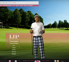 Ian Poulter's website