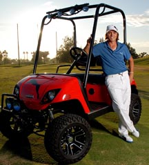 Rickie With Custom Cart-LR